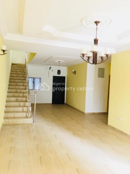 New Serviced 4 Bedroom Terraced Duplex with a Bq, Chevy View Estate, Lekki, Lagos, Terraced Duplex for Rent