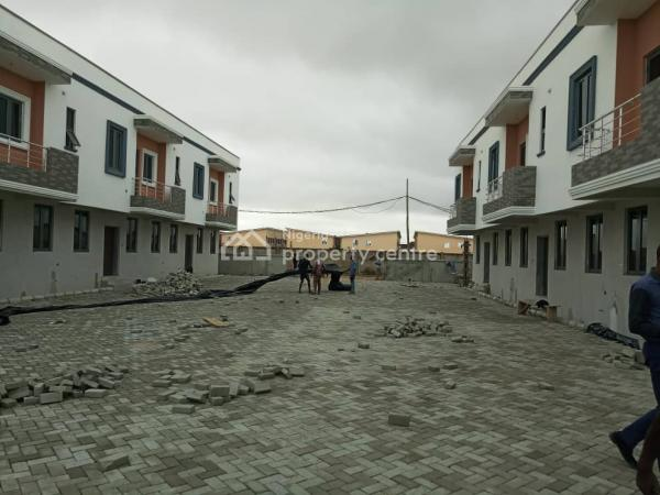 3 Bedroom Terrace Duplex with Bq, Close to Chevron Toll Gate Axis, Lekki Expressway, Lekki, Lagos, Terraced Duplex for Sale