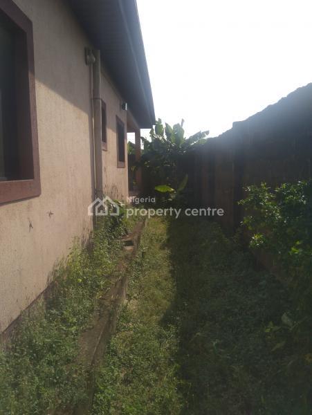 2 Bedroom Bungalow Built on a 4 Plots of Land, Ibereko, Badagry, Lagos, Terraced Bungalow for Sale