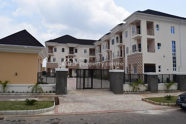 2 Units of 4-bedroom Terrace Duple with Bq, Off Bala Mohammed Avenue, Guzape District, Abuja, Terraced Duplex for Sale