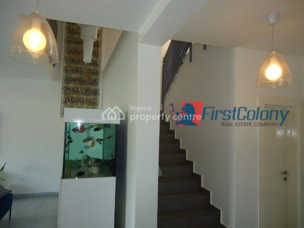 Luxury, Well Finished, and Serviced 4 Bedroom Semi-detached Duplex, Marwa Bus-stop, Right Hand Side From V.i, Lekki Phase 1, Lekki, Lagos, Terraced Duplex for Sale