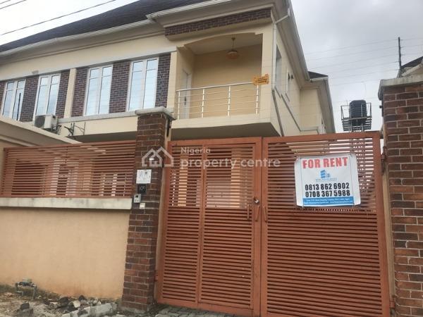 4 Bedroom Duplex with Bq, Bera Estate, Chevron, Lekki, Lagos, Semi-detached Duplex for Rent