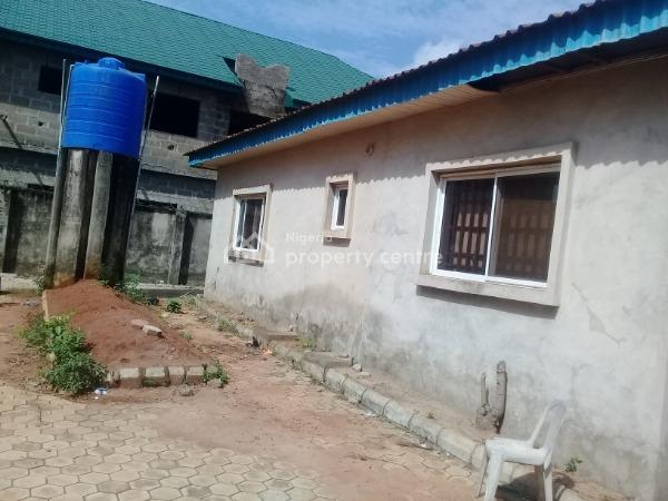 4 Bedroom Flat on 1 and Half Plot of Land, Lion Power Road, Orimerunmun, Olowotedo Bus Stop, Obafemi Owode, Ogun, Detached Bungalow for Sale