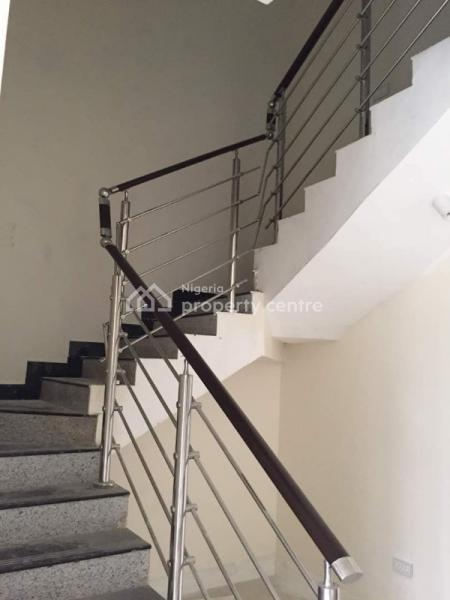 Tastefully Finished and Serviced 4 Bedroom Terrace House with a Room Service Quarter, Osborne Phase 2, Ikoyi, Lagos, Terraced Duplex for Sale
