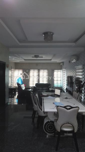 Luxurious 5 Bedroom Fully Detached House, Off Ogunusi Road, Omole Phase 1, Ikeja, Lagos, Detached Duplex for Sale