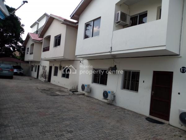 a Lovely Luxury 3br Flat Terrance @ Lavender Estate Yaba Lagos., Sabo, Yaba, Lagos, Terraced Duplex for Rent