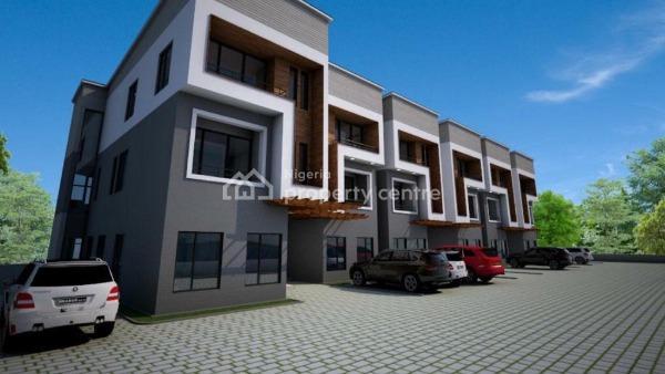 4 Bedroom Terrace Duplex with a Bq, Maitama District, Abuja, Terraced Duplex for Sale