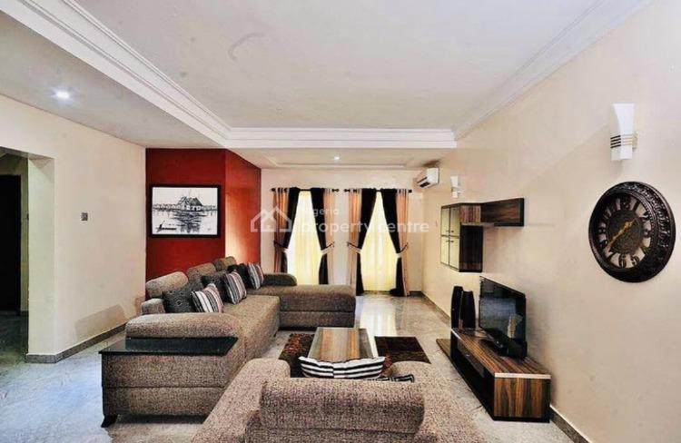 Furnished 3 Bedrooms Luxury Apartment + 2 Living Rooms, Osborne, Ikoyi, Lagos, Terraced Duplex Short Let
