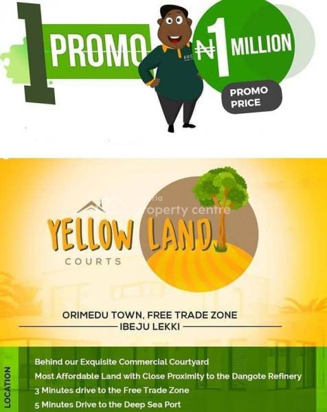 100% Dry Land, Town, Orimedu, Ibeju Lekki, Lagos, Mixed-use Land for Sale
