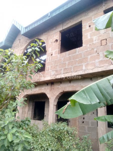 Uncompleted 4-bedroom Mini Duplex, Bab Salam Street Off Ekoro Road, Abule Egba, Agege, Lagos, Detached Duplex for Sale