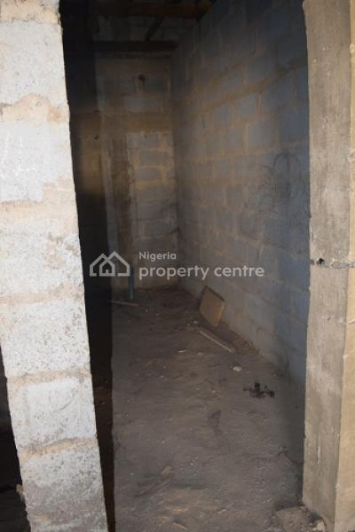 4-bedroom Semi -detached Duplex with Twin Self-contained Bq {carcass}, Golden Spring Estate, Lokogoma District, Abuja, Semi-detached Duplex for Sale