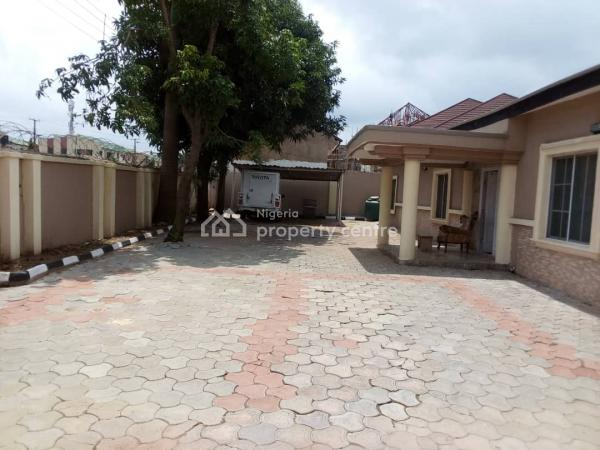 Well Finished & Spacious 3 Bedrooms Fully Detached Bungalow with a Room Bq, Kado Estate, Kado, Abuja, Detached Bungalow for Rent