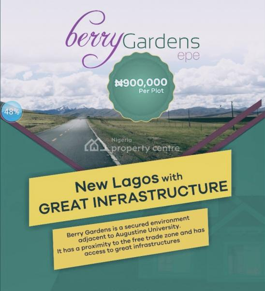 Land, Adjascent St. Augustine University, Epe, Lagos, Residential Land for Sale