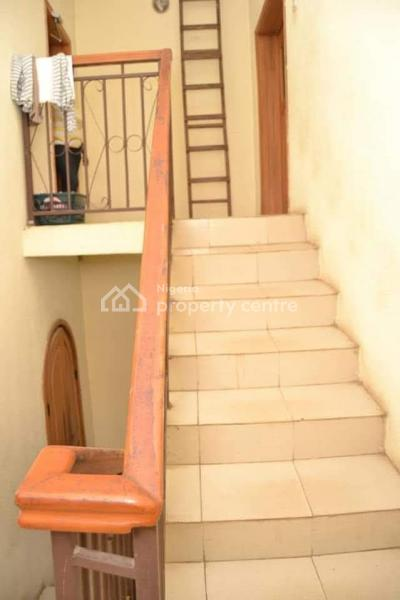 4 Bedroom Duplex All Ensuite with Very Massive Master Bedroom and 2 Sitting Rooms with Pop on Land Size of 690sqms, Off Olaniyi Street Oko Oba, Oko-oba, Agege, Lagos, Detached Duplex for Sale