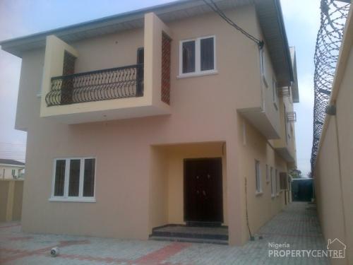 Nice 4 5 Bedroom Duplex With Boys Quarter Lekki Lagos