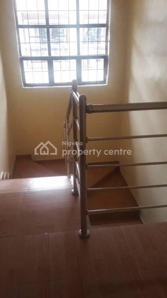 Beautifully Built 4 Bedroom Terrace with 1 Room Bq, By Third Round About, Ikate Elegushi, Lekki, Lagos, Terraced Duplex for Rent