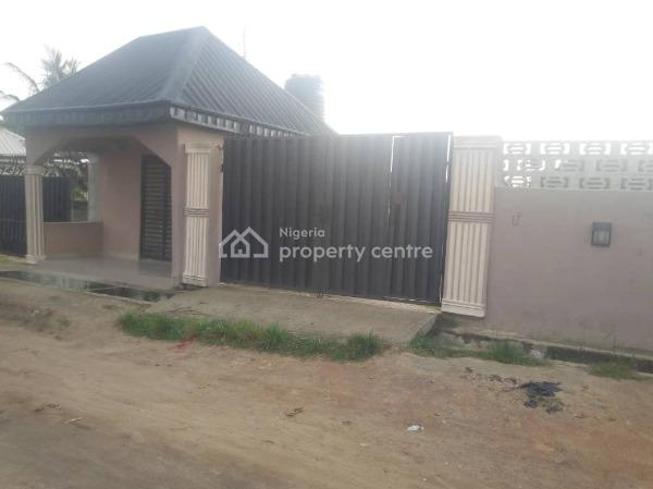 2 Flats Bungalow with 2 Shops, Oko Afo, Badagry, Lagos, Block of Flats for Sale