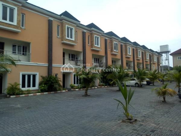 Exquisite 4 Bedroom Terraced Duplex with Swimming Pool, Osapa, Lekki, Lagos, Terraced Duplex for Sale