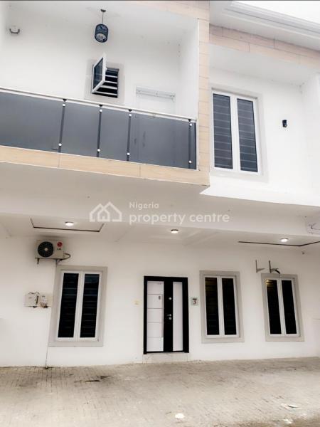 Four (4) Bedroom Unit of Terrace, Off Orchid Hotel Road Opposite Chevron Alternative Route, Lekki Phase 1, Lekki Phase 1, Lekki, Lagos, Terraced Duplex for Rent