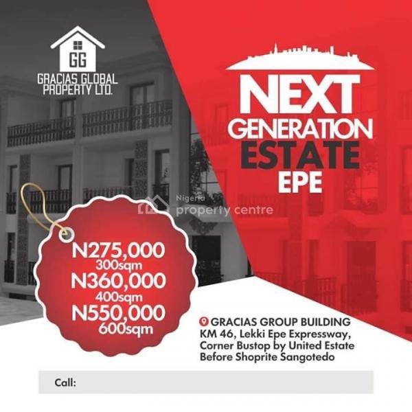 Next Generation Estate,epe, Before Shoprite, Epe, Lagos, Land for Sale