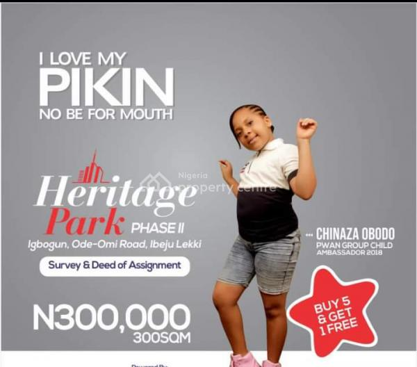 Heritage Park Land, Folu Ise, Ibeju Lekki, Lagos, Mixed-use Land for Sale