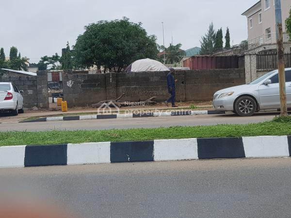 1200sqm Bare Land on a Major Road, Adetokumbo Ademola Crescent, Wuse 2, Abuja, Residential Land for Sale