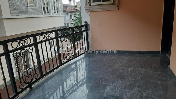 Spacious and Beautiful 3 Bedroom Flat Ensuite -upstairs, Idado, Lekki, Lagos, Flat for Rent