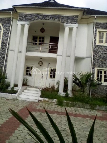 Exquisite Luxury Detached 4 Bedroom Duplex with 1 Room Bq, Ibinye Drive Estate, Off Woji Junction, Woji, Port Harcourt, Rivers, Detached Duplex for Rent