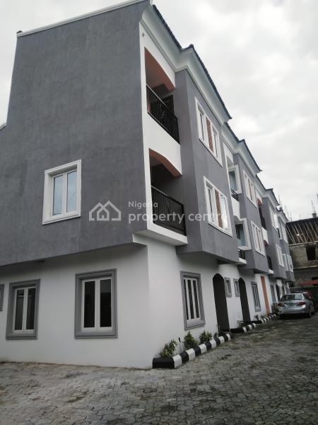 Tastefully Finished 4 Bedroom Terrace Duplex with Bq, Brownstone Estate, Ikate Elegushi, Lekki, Lagos, Terraced Duplex for Sale