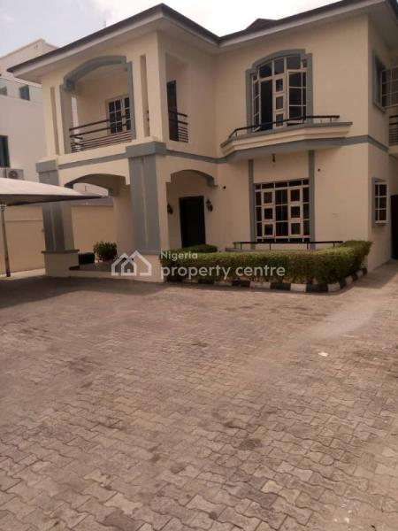 a 5 Five Bedroom Detached House with 2 Two Rooms Bq Good Parking Space, Off Admiralty Way, Lekki Phase 1, Lekki, Lagos, Detached Duplex for Rent