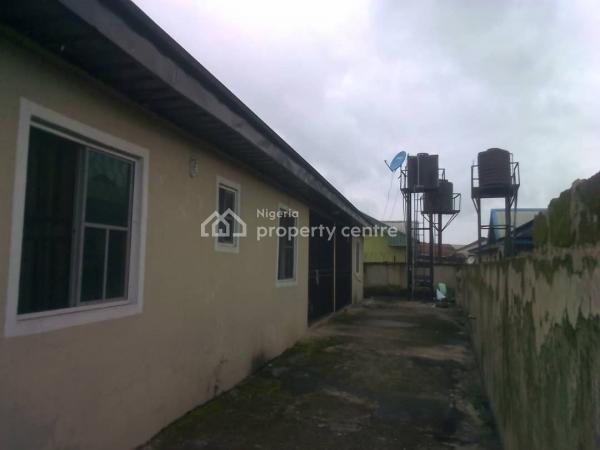 Affordable  Semi Detached Bungalow of 3 Flats, Off Airport Road, Close to Old Airport, Effurun, Uvwie, Delta, Semi-detached Bungalow for Sale