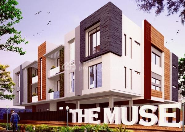Contemporary 3 Bedroom Flats, Bridgegate Estate, Agungi, Lekki, Lagos, Flat for Sale