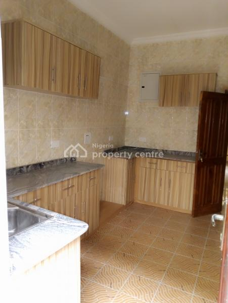 Clean 3 Bedroom  Flat  with Just Three Tenants in a Compound, Within a Very Secured Estate Before Shop Rite  Ajah, Sangotedo, Ajah, Lagos, Flat for Rent