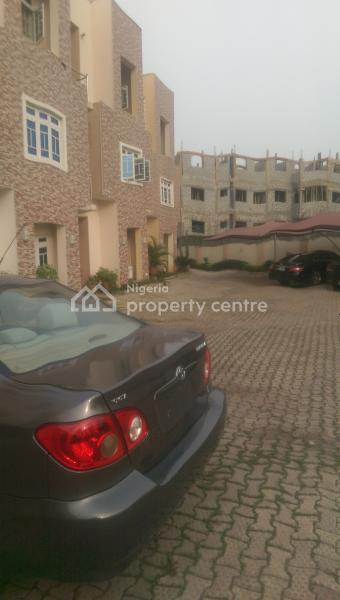 New 4 Bedroom Duplex with a Self Contain Bq, Wuye, Abuja, Terraced Duplex for Rent