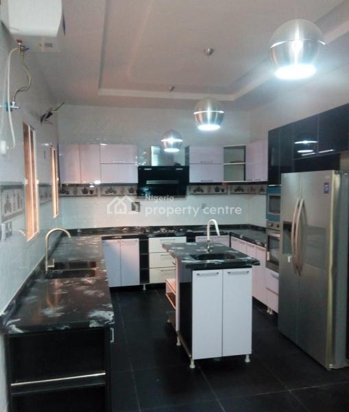 Brand New 5 Bedroom Detached House with a Room Bq and Swimming Pool, Akora Villa, Adeniyi Jones, Ikeja, Lagos, Detached Duplex for Sale