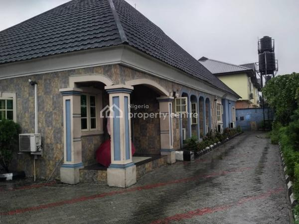 Stunning 4 Bedroom Bungalow, Jakpa Road, Uvwie, Delta, Detached Bungalow for Sale