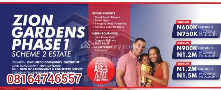 Zion Gardens Phase 1, Okun Imedu, Ibeju Lekki, Lagos, Mixed-use Land for Sale