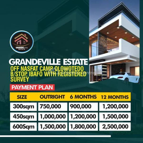 Grandeville Estate, Grandeville Estate Mowe Off Nasfat Camp Olowotedo B/stop, Mowe Ofada, Ogun, Mixed-use Land for Sale