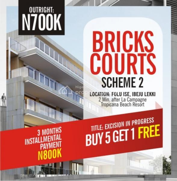 Bricks Courts Scheme 2 Ibeju Lekki, Folu Ise, Ibeju Lekki, Lagos, Land for Sale
