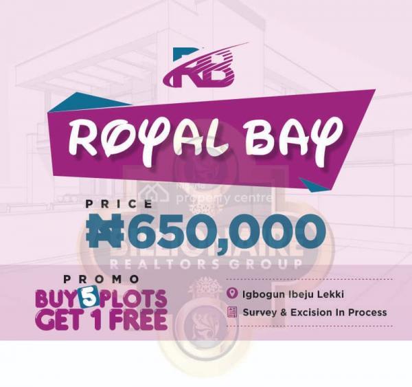 Royal Bay Estate, 20 Mins Drive From Dangote, Ibeju Lekki, Lagos, Mixed-use Land for Sale