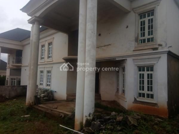 Uncompleted Semi Detached 5 Bedrooms  Duplex with 1 Room Bq and 2 Bedrooms Guest Chalets, Asokoro District, Abuja, Semi-detached Duplex for Sale