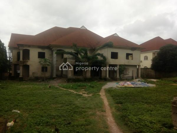 Uncompleted 6 Bedrooms Duplex and 2 Rooms Bq, Asokoro District, Abuja, Detached Duplex for Sale