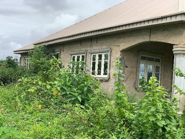 Luxury 3 Bedrooms Uncompleted Bungalow, Sib Area at Alagbaka G.r.a, Akure, Ondo, Detached Bungalow for Sale