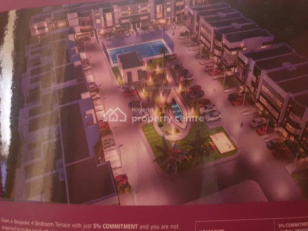 80% Completed 4 Bedroom Terrace Duplex, Grenadines Resort, Katampe (main), Katampe, Abuja, House for Sale