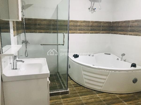 Newly Built Serviced Four Bedroom Semi Detached House with Bq, Lafiaji, Lekki, Lagos, Semi-detached Duplex for Rent