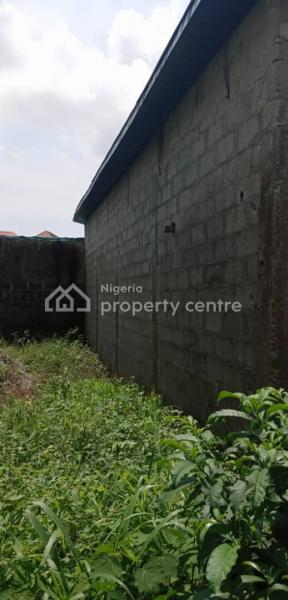 a Plot of Land with 4 Luck Up Shops and Security House, Royal Palmwill, Badore, Ajah, Lagos, Residential Land for Sale