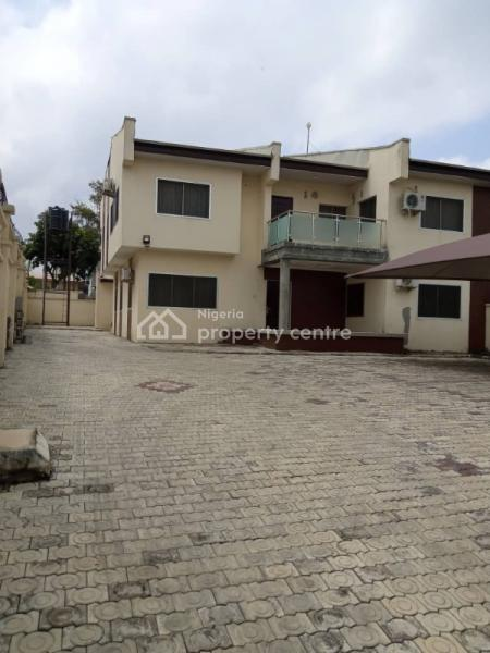 4 Bedroom Semi Detached Duplex with Bq, Beside Sheraton, Wuse, Abuja, Semi-detached Duplex for Rent