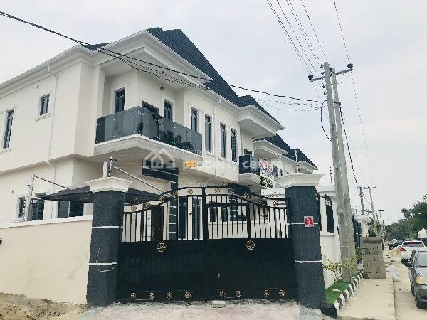 Newly Built Four Bedroom Semi Detached House with Bq, Lafiaji, Lekki, Lagos, Semi-detached Duplex for Sale