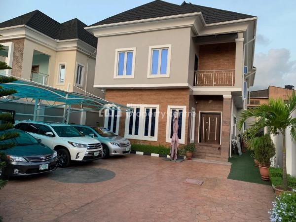 Neatly Built & Tastefully Furnished 5bedroom Detached Duplex with 2 Rooms Bq on *500 Sqm, Omole Phase 1, Ikeja, Lagos, Detached Duplex for Sale