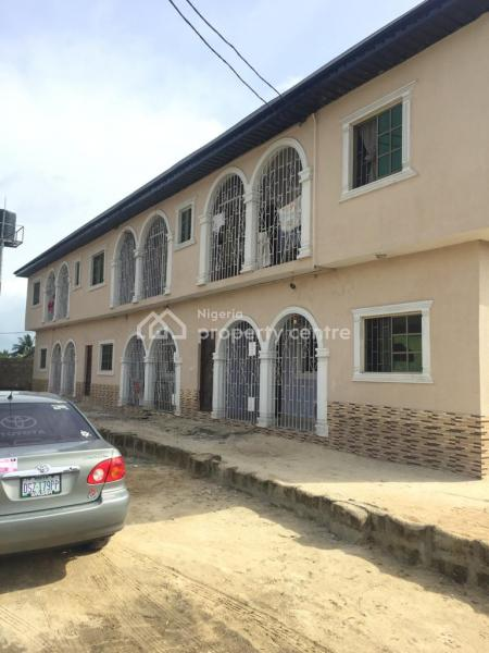 Excellent Storey Building of 6 Flats, Before Railway, Orhuwhorun, Udu, Delta, House for Sale